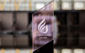 """""""Caspian Business Award 2016"""" mükafatı"""