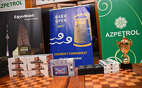 Azpetrol sponsored the Children's Tournament of the International Chess Festival BAKU OPEN - 2017.