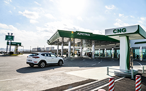 "The sale of CNG has started at 4 Stations of ""Azpetrol"""