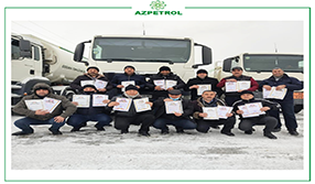"15 employees of ""Azpetrol"" Company were awarded with Honorary Certificates"